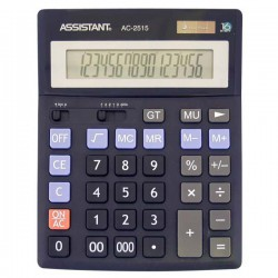 Калькулятор ASSISTANT AC-2515 16-ти разр.