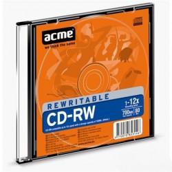 Диск CD-RW Acme Slim 700 Mb