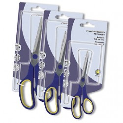 Ножницы с резиновыми вставками 21.5см ОР