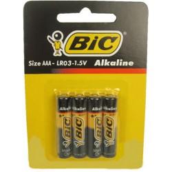 Батарейки AAА BIC