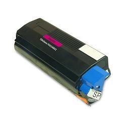 Тонер картридж 43034802 для OKI C3000 / 3010 / 3100 / 3200 / 5100 / 5400 красный