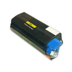 Тонер картридж 43034801 для OKI C3000 / 3010 / 3100 / 3200 / 5100 / 5400 желтый
