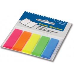 Стикер-закладка 45*12 пластик Оffice point