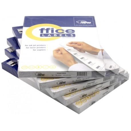Бумага самоклеящаяся для изготовления этикеток Forpus, А4