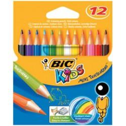 Набор цветных карандашей 12 цветов Тропикулер BIC